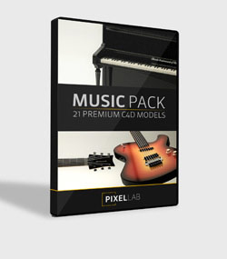 Pixel.Lab.music-pack.For.C4D.www.Download.ir