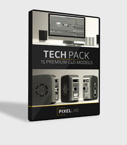Pixel.Lab.tech-pack.For.C4D.www.Download.ir