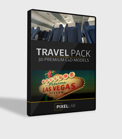 Pixel.Lab.travel-pack.For.C4D.www.Download.ir