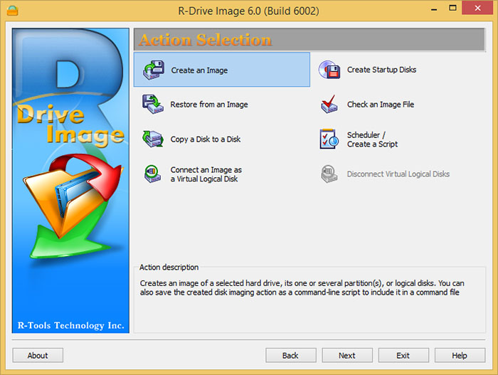 دانلود نرم افزار R-Drive Image تهیه نسخه پشتیبان به صورت فایل ایمیج