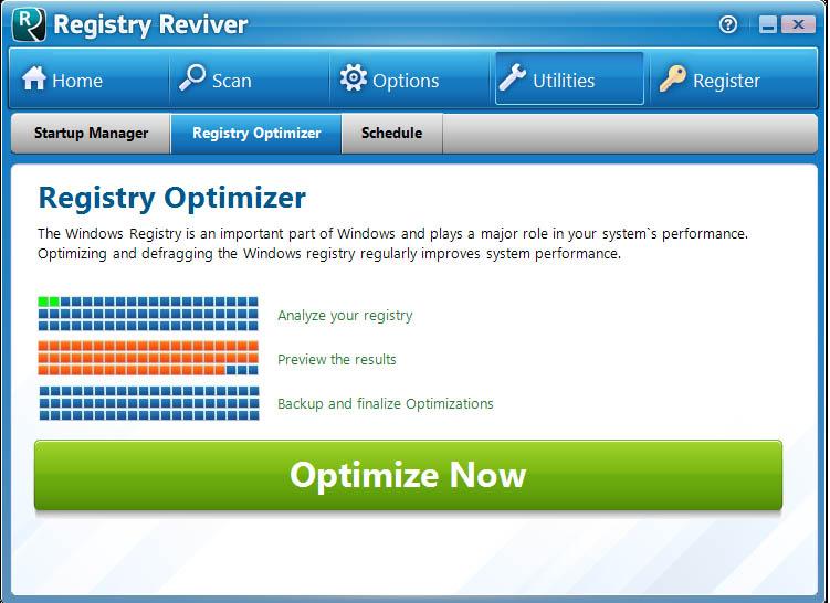 دانلود نرم افزار Registry Reviver بهینه سازی رجیستری ویندوز