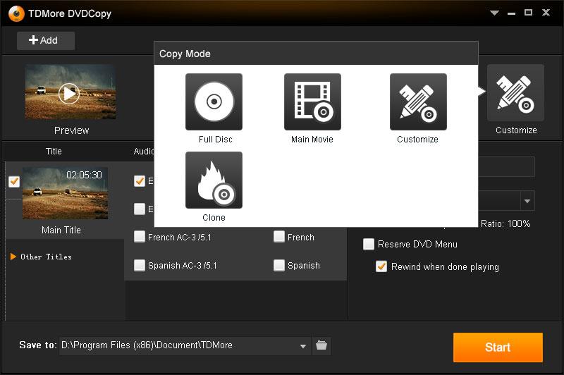 دانلود نرم افزار TDMore DVD Copy کپی و ویرایش دی وی دی ها