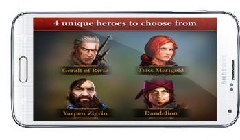 دانلود بازی اندروید The Witcher Adventure Game