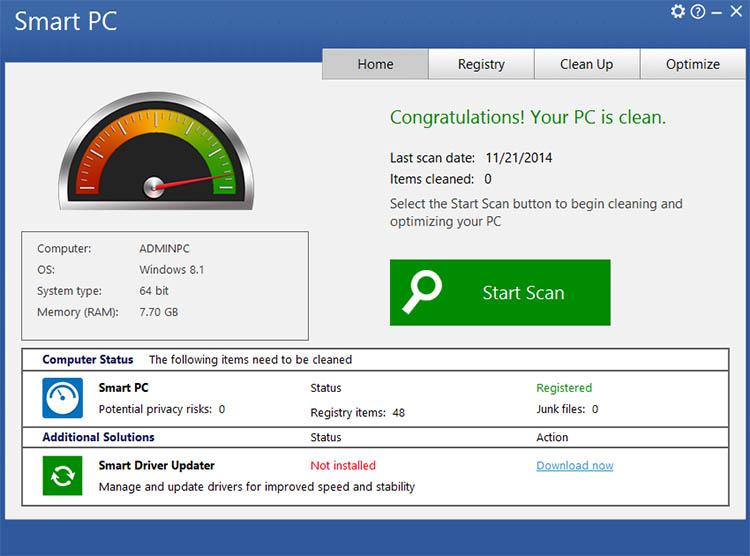 دانلود نرم افزار Smart PC عیب یابی سیستم