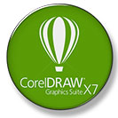 دانلود نرم افزار CORELDRAW GRAPHICS SUITE X7 کورل دراو با کرک