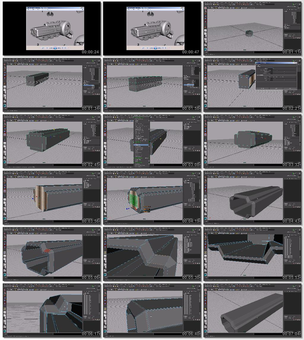 Digital.Tutors.Quick.Start.to.Modeling.in.Maya.Volume.3.www.Download.ir