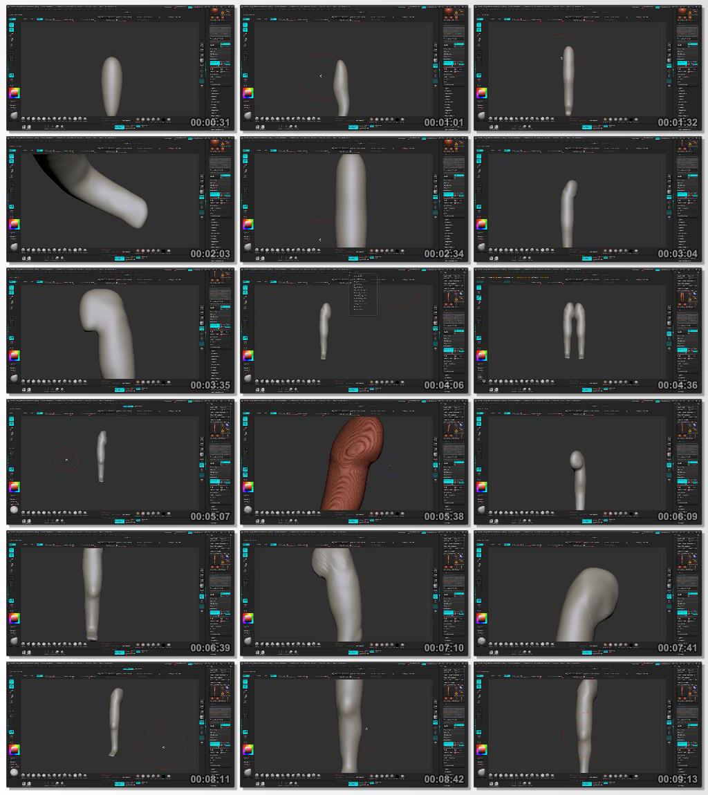 Digital.Tutors.Sculpting.Human.Legs.in.ZBrush.www.Download.ir