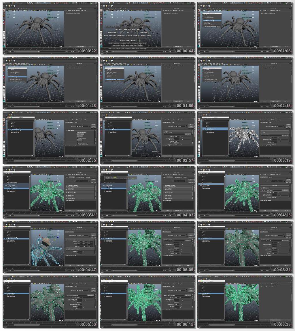 Digital.Tutors.Using.Houdini.Engine.to.Simulate.Finite.Elements.in.Maya.www.Download.ir