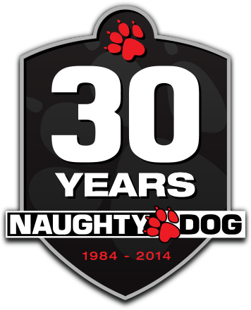 Naughty.Dog.30.Years.logo.www.download.ir