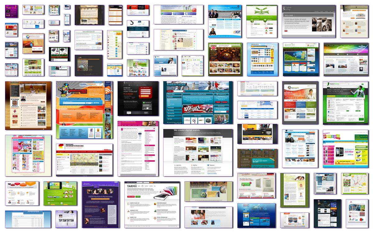 دانلود مجموعه تصاویر الهام بخش برای طراحی وب سایت
