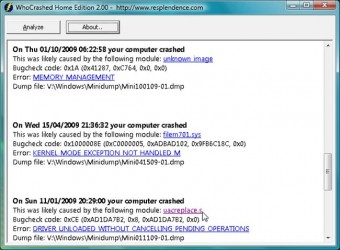 WhoCrashed.Free.Home.Edition.5.03.Screen.Shot.4.www.Download.ir