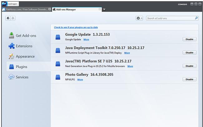 comodoicedragonfirefox.Screenshot2.www.Download.ir