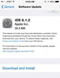 دانلود نسخه نهایی iOS 8.1.2 آی او اس 8.1.2 برای آیفون آیپد آیپاد لمسی