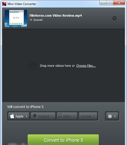 دانلود آخرین نسخه نرم افزار Miro Video Converter