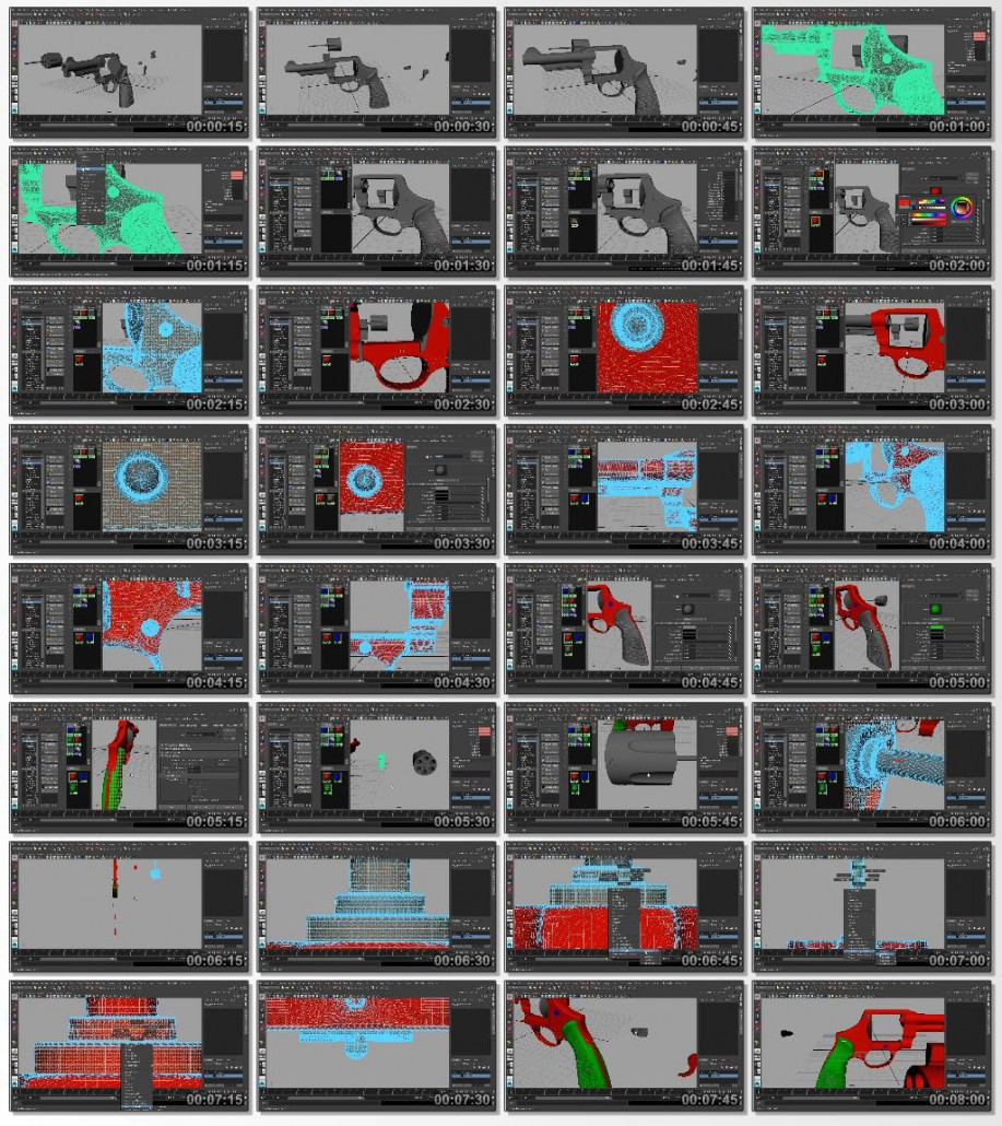 Digital.Tutors.Map.Baking.Techniques.for.Games.in.Maya.2015.www.Download.ir