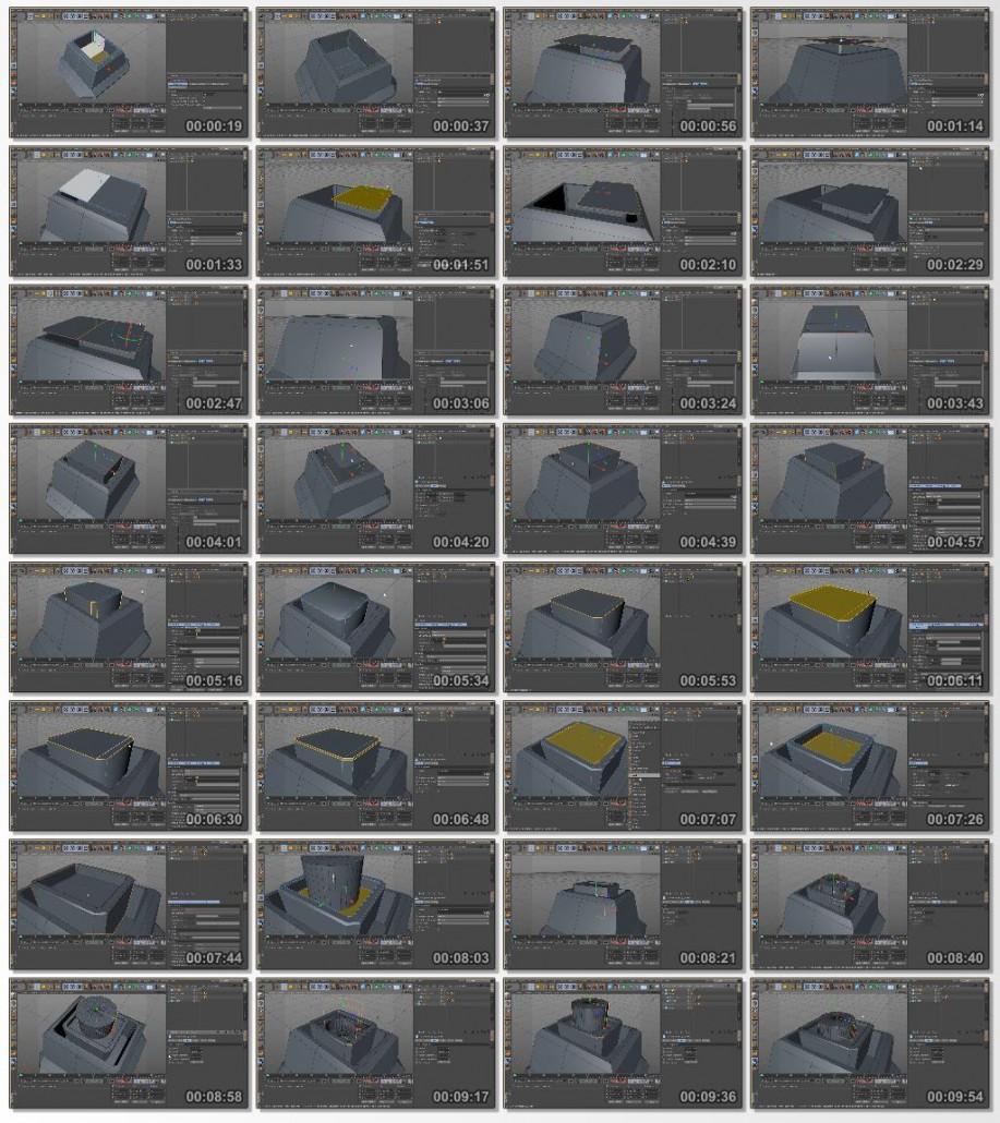Digital.Tutors.Modeling.a.Machine.Gun.Turret.in.CINEMA.4D.www.Download.ir
