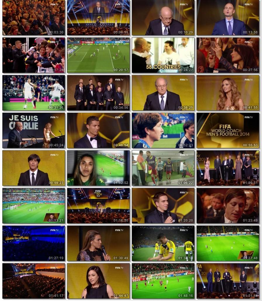 دانلود مراسم فیفا FIFA Ballon d'Or Ceremony 2014