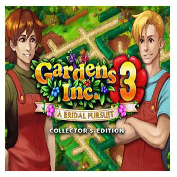 دانلود بازی کم حجم Gardens Inc 3 Bridal Pursuit Collectors Edition
