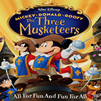 Mickey Donald The Three Musketeers