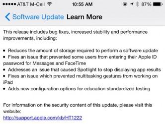 دانلود نسخه نهایی iOS 8.1.3 آی او اس 8.1.3 برای آیفون آیپد آیپاد لمسی