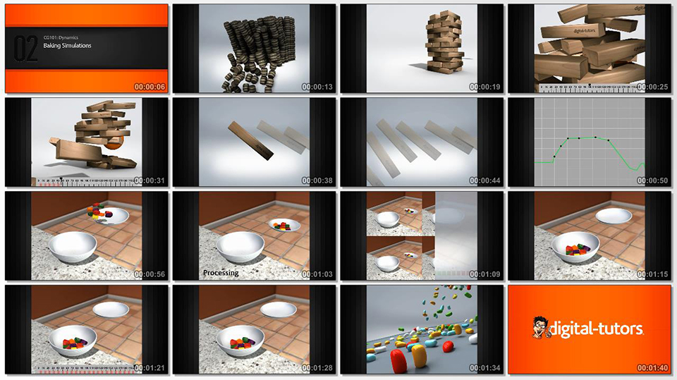 07.Digital.Tutors-CG101.Dynamics.www.Download.ir