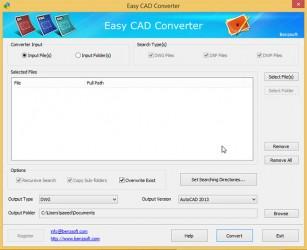دانلود آخرین نسخه نرم افزار Easy CAD Converter