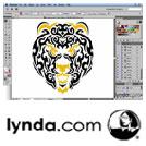 Lynda-Drawing.Vector.Graphics.Tribal.Illustration.5x5.www.Download.ir