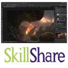 Skillshare-Digital.Painting.Concept.Landscapes.5ط5.www.Download.ir