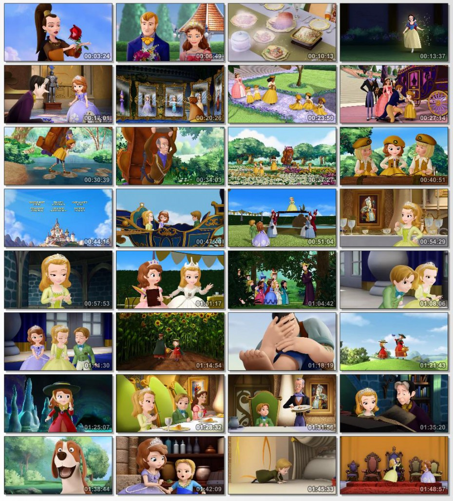 دانلود انیمیشن کارتونی Sofia the First The Enchanted Feast