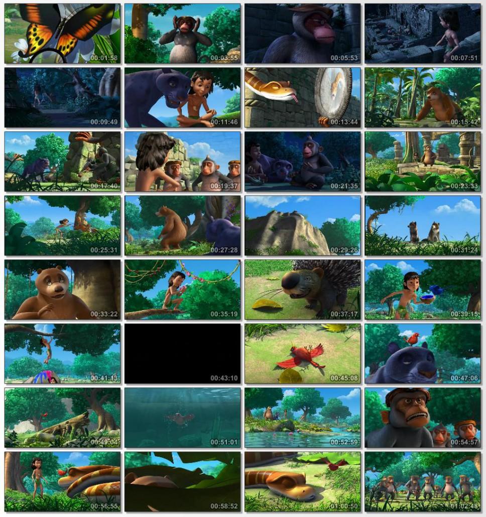 دانلود انیمیشن کارتونی کتاب جنگل محصول سال 2014
