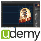 Udemy-Photoshop.CC- Photoshop.Quick.Start.5x5.www.Download.ir