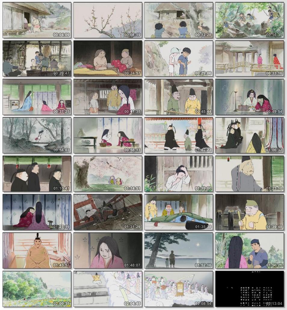 دانلود انیمیشن کارتونی The Tale of The Princess Kaguya