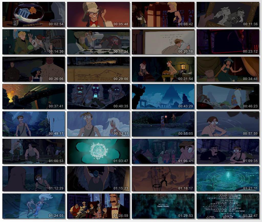 دانلود انیمیشن کارتونی Atlantis The Lost Empire