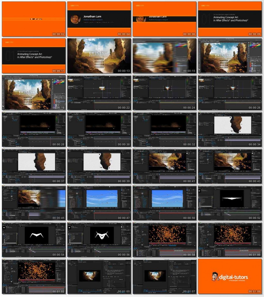 DT-Animating.Concept.Art.in.After.Effects.and.Photoshop.www.Download.ir