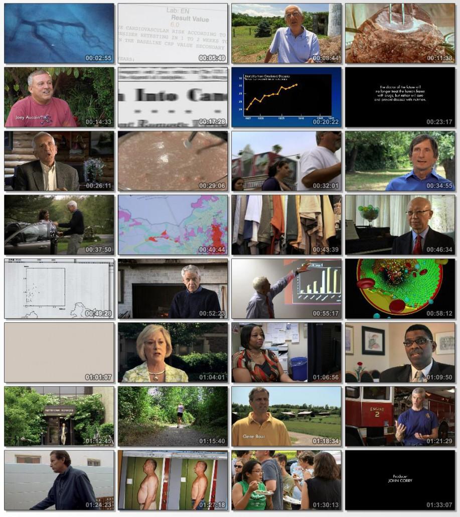 دانلود فیلم مستند Forks Over Knives 2013