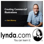 Lynda-Creating.Commercial.Illustrations.5x5.www.Download.ir