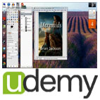 Udemy-GIMP.For.Beginners.Book.Covers.And.Free.Graphic.Design.5x5.www.Download.ir