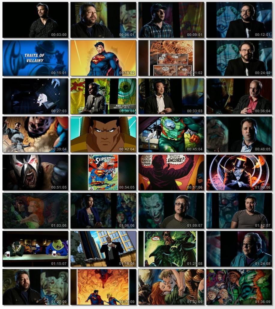 دانلود فیلم مستند Super Villains of DC Comics