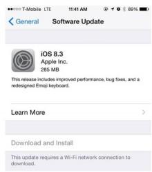 دانلود نسخه نهایی آی او اس 8.3 iOS برای آیفون آیپد آیپاد لمسی