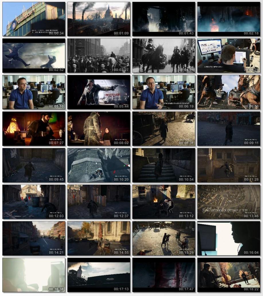 دانلود مراسم رونمایی Assassins Creed Syndicate