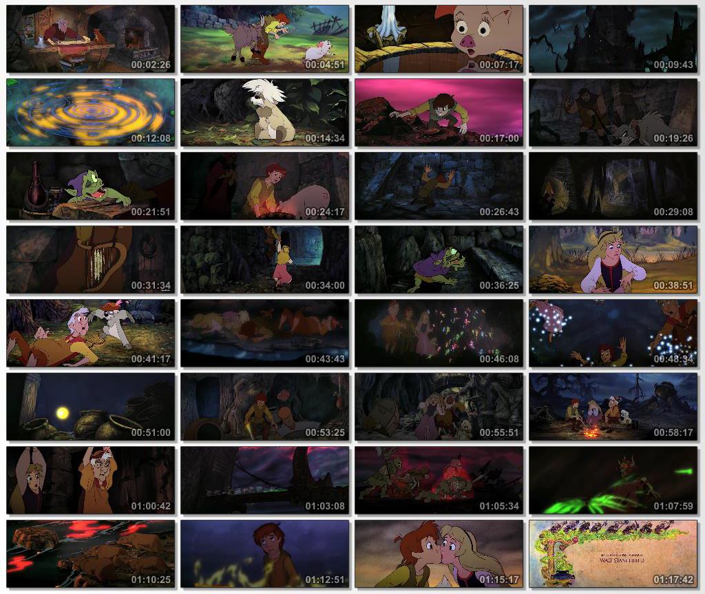 دانلود انیمیشن کارتونی The Black Cauldron 1985