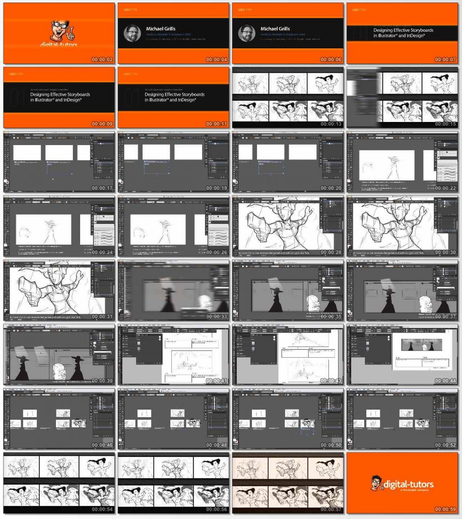 Designing Effective Storyboards in Illustrator and InDesign