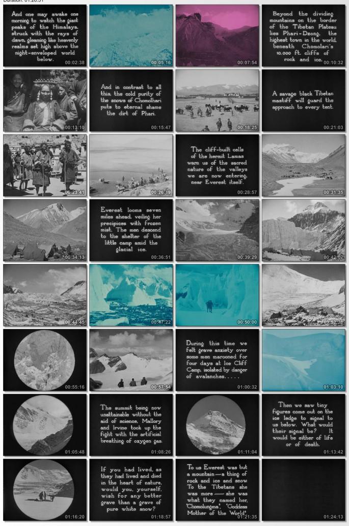 دانلود فیلم مستند The Epic of Everest 1924