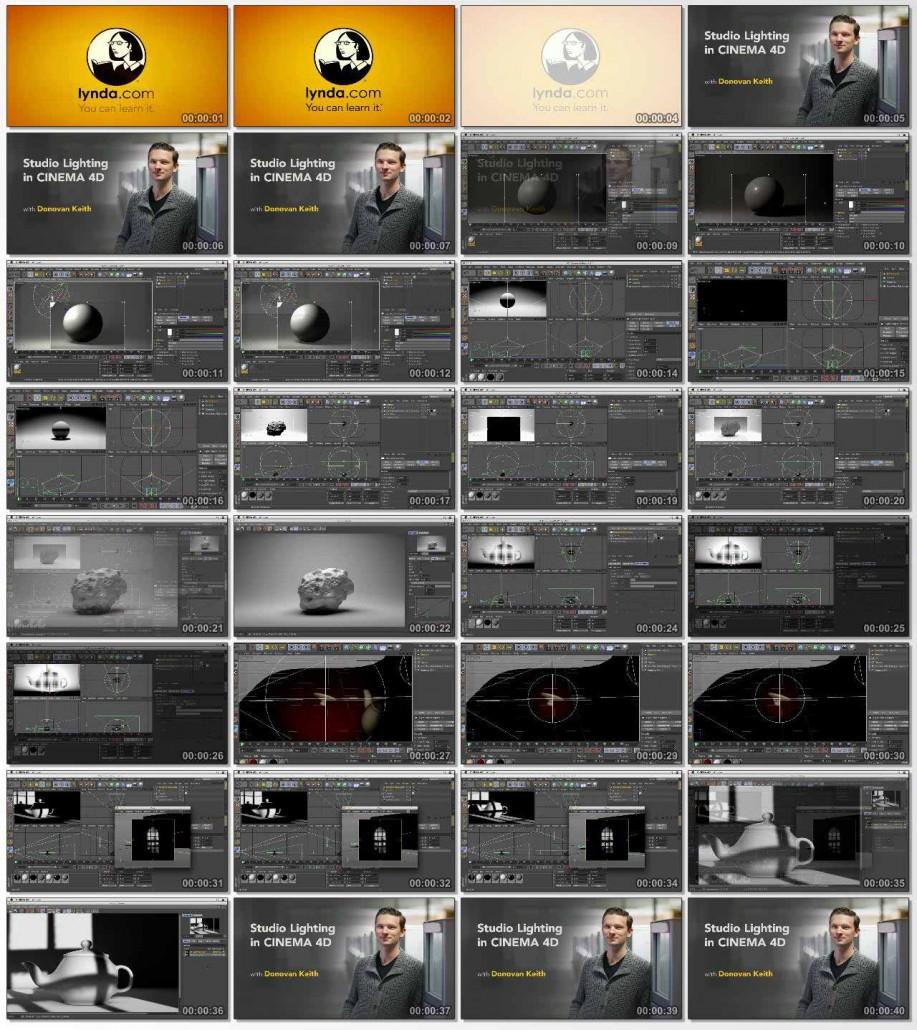 Studio Lighting in CINEMA 4D