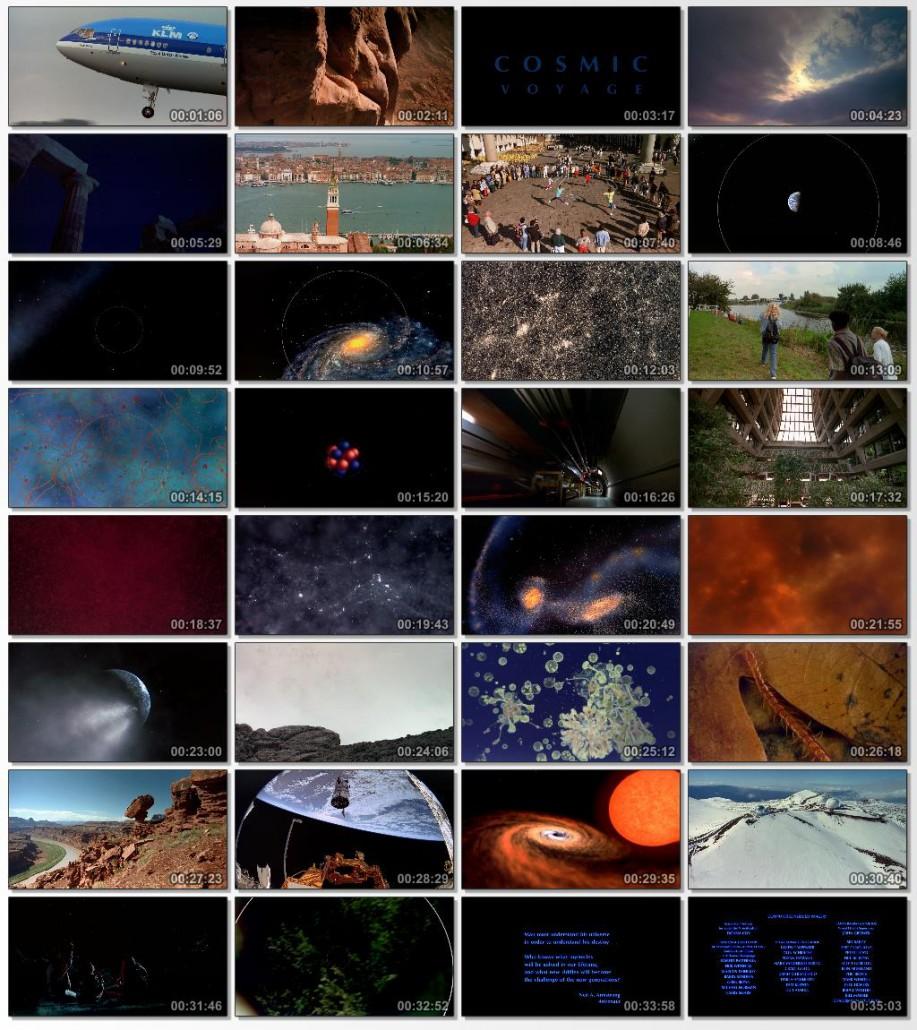 دانلود فیلم مستند Cosmic Voyage 1996