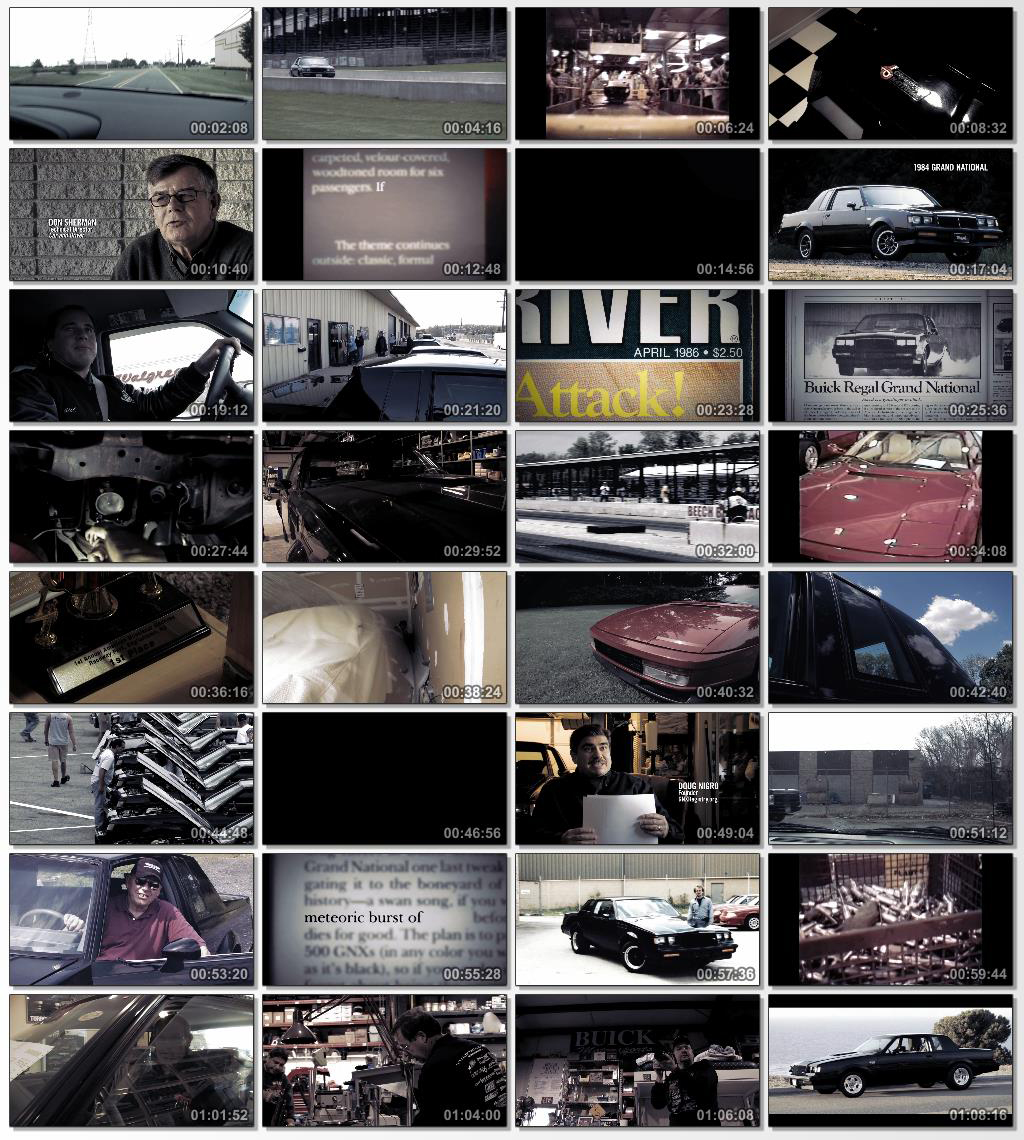 دانلود فیلم مستند Black Air The Buick Grand National 2012