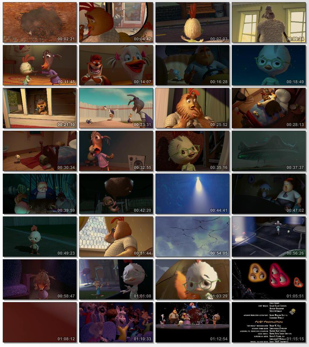 دانلود انیمیشن کارتونی Chicken Little 2005