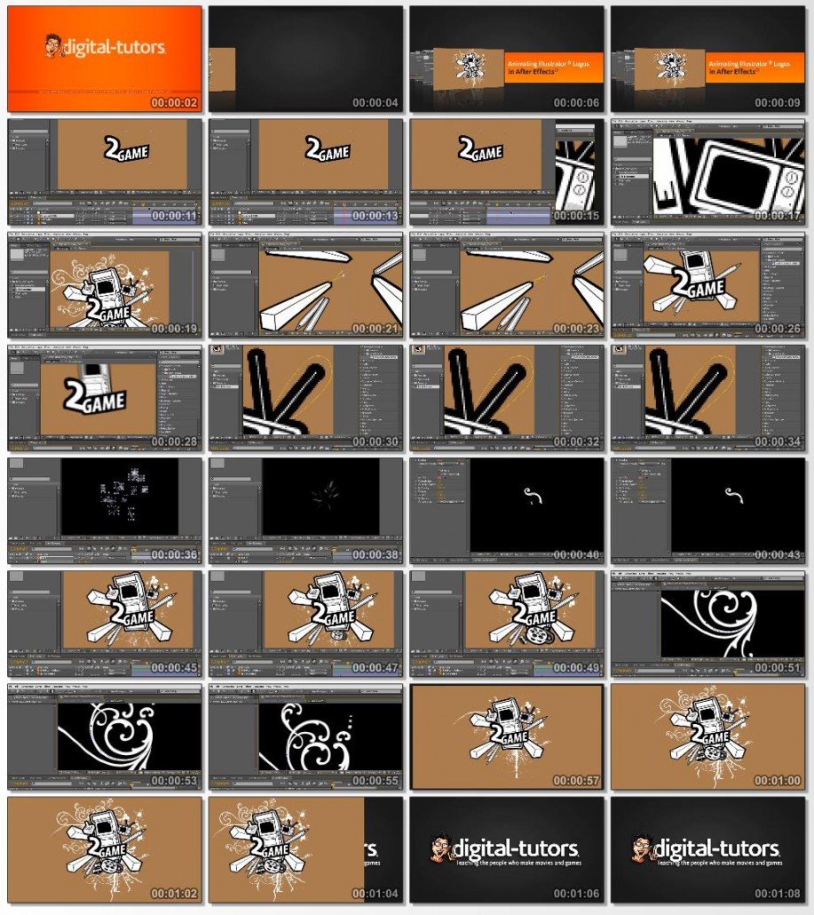 Animating Illustrator Logos in After Effects