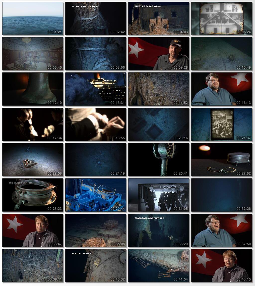 دانلود فیلم مستند Titanic 100 Years in 3D 2012