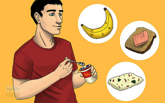 Eat breakfast ( خوردن صبحانه )